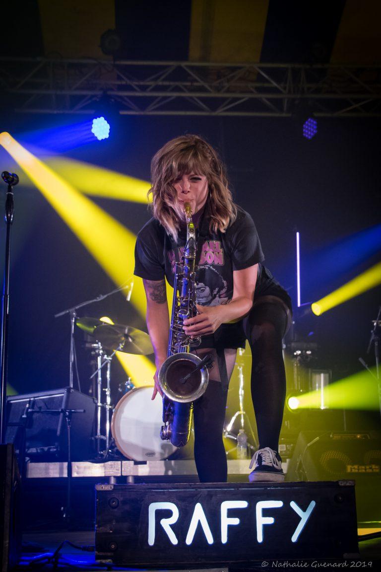 Raffy saxophone