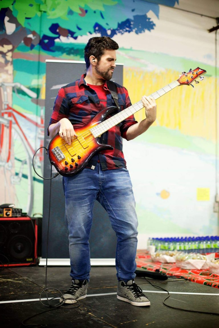 Martin Gauthier Raffy Basse Live bassiste