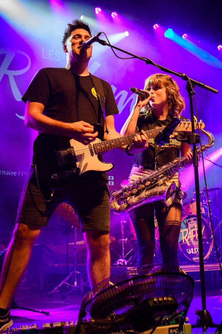 Marc-André Binette et Raffy Rythmes Tremblant live