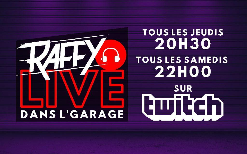 Raffy Live Dans Garage