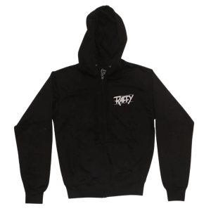 hoodie libérer l'animal noir devant