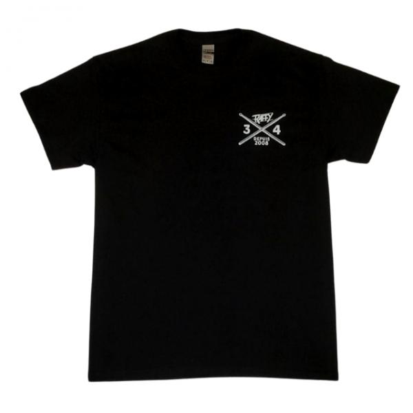 t-shirt Raffy 3-4 noir