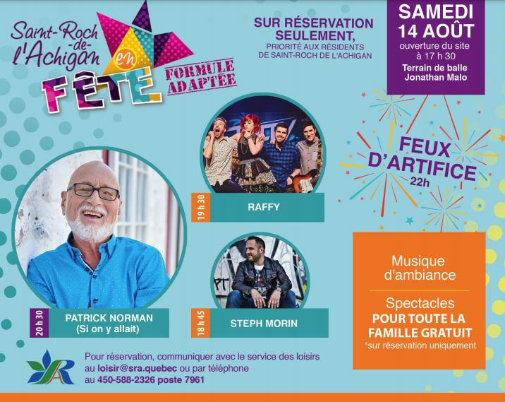 Saint-Roch-de-l'Achigan en Fête 2021